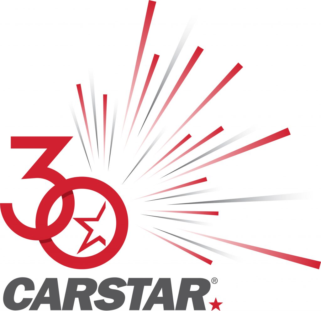 CARSTAR 30th Anniversary Logo