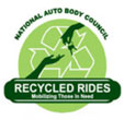 Recycled Rides logo
